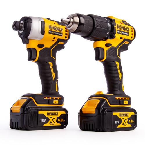 Dewalt DCK2062M2T 18V XR Brushless Twin Pack - DCD709 Combi Drill + DCF809 Impact Driver (2 x 4.0Ah Batteries) - 5