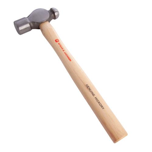 Spear & Jackson SJ-BPH32 Engineers Ballpein Hickory Hammer 32oz - 1