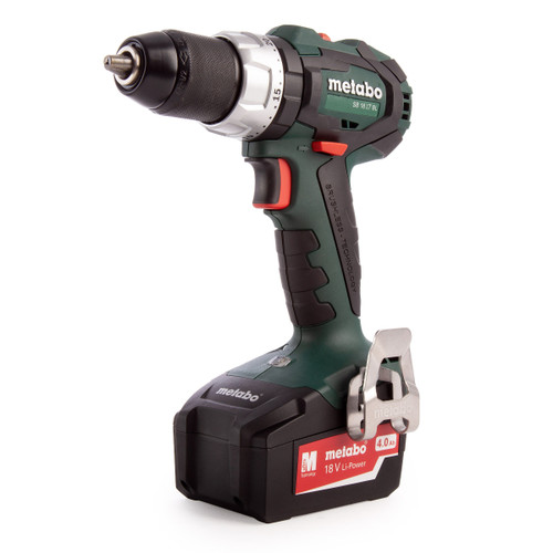 Metabo SB18LTBLTSKIT 18V Brushless Combi Drill (1 x 4.0Ah Battery) - 6