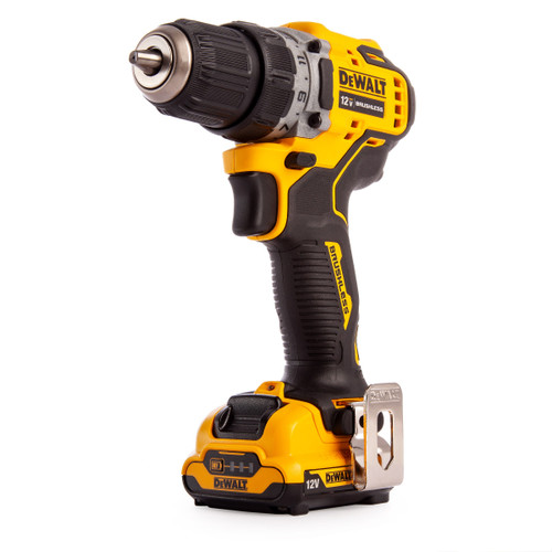Dewalt DCD701 12V XR Brushless Sub-Compact Drill Driver (2 x 2.0Ah Batteries) - 7
