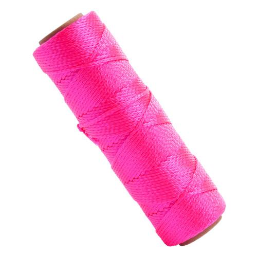 Marshalltown M631 Braided Nylon Masons Line Fluorescent Pink 250ft