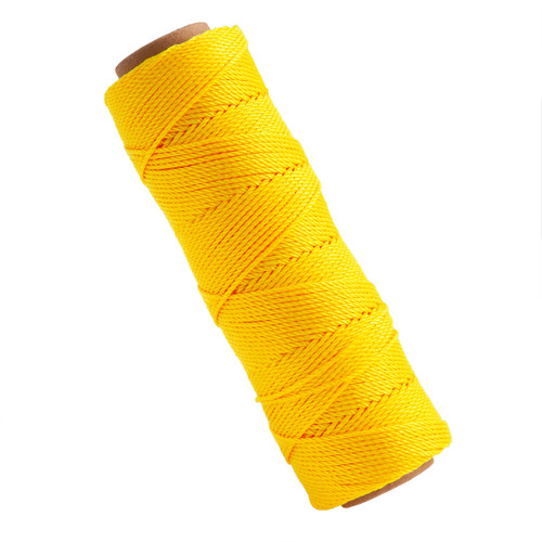 Marshalltown M621 Twisted Nylon Masons Line Yellow 285ft - 1