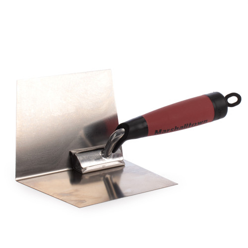 Buy Marshalltown M23D Thin Coat Inside Corner Trowel With Durasoft Handle 4 x 5in at Toolstop