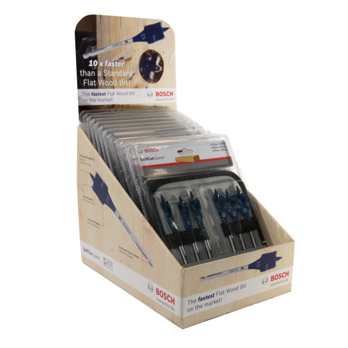 Buy Bosch 2608595425 Self Cut Speed Bit Set CTU - 10 x 6 Piece at Toolstop
