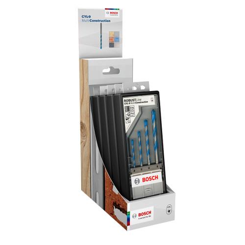 Buy Bosch 2607010522 Multi Construction Drill Set CTU - 6 x 4 Piece at Toolstop