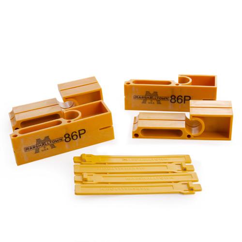 Buy Marshalltown M86P Plastic Line Blocks & Twigs (2 Pairs) at Toolstop