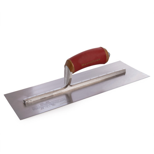Buy Marshalltown MPB14SSD Permashape Finishing Trowel With Durasoft Handle 14 x 5in at Toolstop