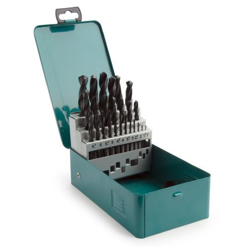 Makita D-54097 Assorted HSS-R Set in Metal Case (25 Piece) - 3