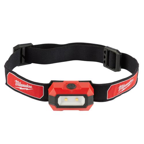 Milwaukee 4933459441 HL-LED Alkaline Slim Head Lamp (3 x AAA Batteries) - 2