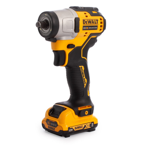 Dewalt DCF902D2 12V XR Brushless Sub-Compact Impact Wrench 3/8in (2 x 2.0Ah Batteries) - 3