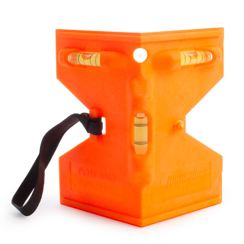 Johnson JL175-O Orange Post And Pipe Level - 2