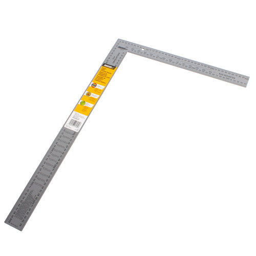 Johnson JLCS13 Metric Steel Roofers Square 400mm x 600mm - 1