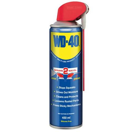 WD-40 Multi-Use Lubricant with Smart Straw (44037) 450ml - 1