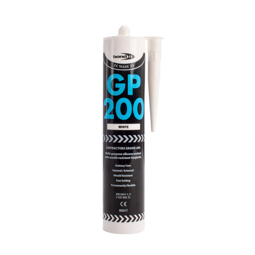 Buy Bond-It BDSVWH GP200 General Purpose Silicone in White at Toolstop