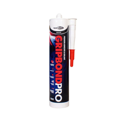 Buy Bond-It BDMSP Gripbond Pro Hybrid Sealant and Adhesive in White at Toolstop