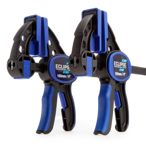 Eclipse EOHBC6X2 One Handed Bar Clamp & Spreader 6in / 150mm (Pack of 2) - 4