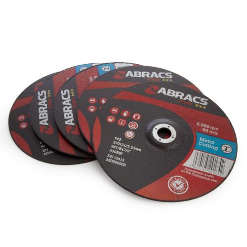 Abracs PF23030DM Proflex Metal Cutting Discs 230 x 3 x 22.23mm (Pack Of 25)