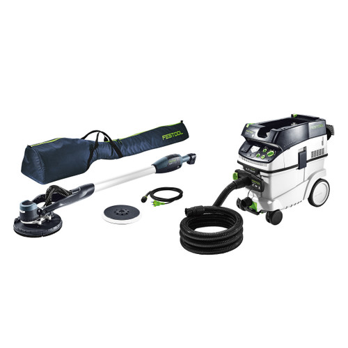 Festool 575458 LHS-E 225/CTM36-Set PLANEX Long Reach Sander & Dust Extractor 110V - 1