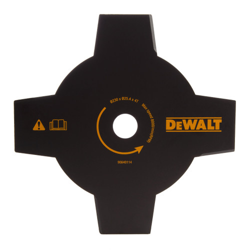 Buy Dewalt DT20655 4 Tooth Brush Cutter Blade For Trimmer 230mm at Toolstop