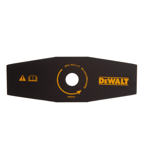 Buy Dewalt DT20654 Brush Cutter Straight Blade For Trimmer 255mm at Toolstop