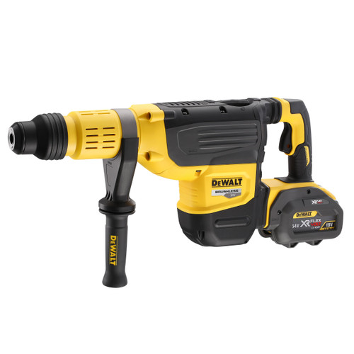 Dewalt DCH773Y2 54V XR Flexvolt SDS Max Rotary Hammer Drill 52mm (2 x 12.0Ah Batteries) - 3