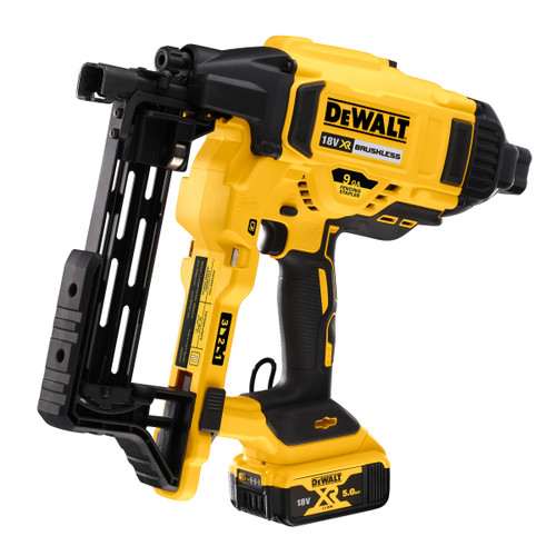 Dewalt DCFS950P2 18V XR Brushless Fencing Stapler (2 x 5.0Ah Batteries) - 3