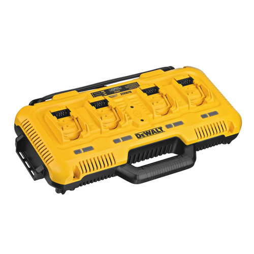 Dewalt DCB104 18V XR 4 Port Simultaneous Fast Charger 110V