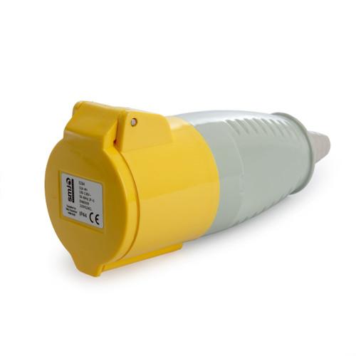 SMJ 110V32ACL 32 Amp Yellow Socket Coupler 110V - 2