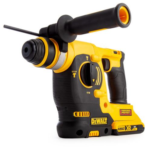 Dewalt DCH243D2 18V XR SDS Plus Hammer Drill (2 x 2.0Ah Batteries) - 7