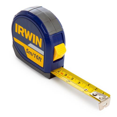 Irwin 10507788 Metric/Imperial Tape Measure 5m / 16ft - 2