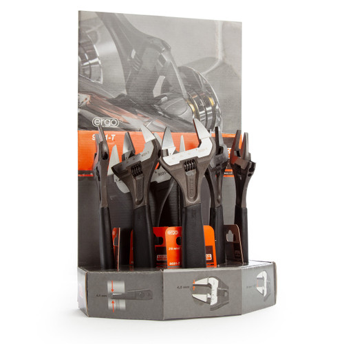 Bahco 9031-T-5-DISP Adjustable Wrenches 8in - 5 Pieces TS - 2
