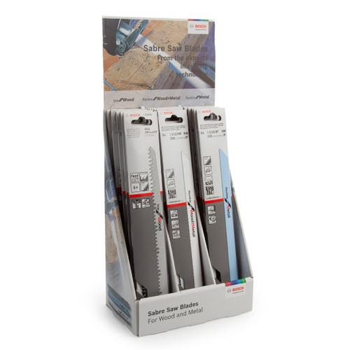 Bosch 06159975K7 Sabre Saw Blade Display For Wood & Metal - 3