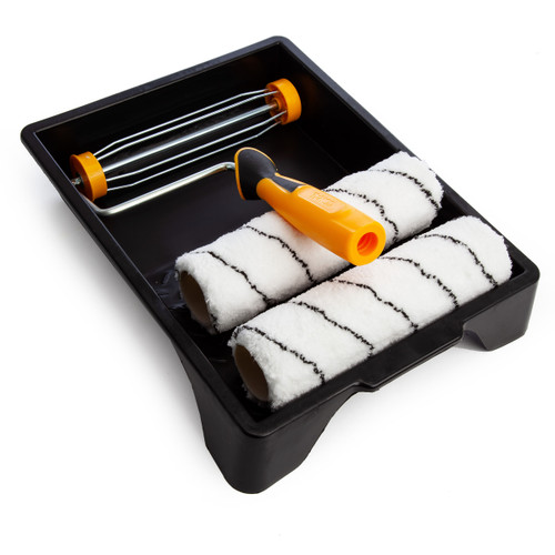 Coral 43431 Easy Coater PRO Paint Roller and Tray Set (4 Piece) - 1