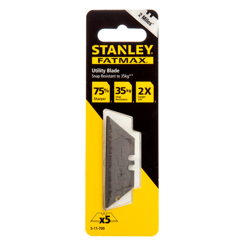 Stanley 5-11-700 Fatmax Utility Blades - Pack of 5 - 1