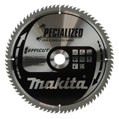 Buy Makita B-67262 Efficut TCT Saw Blade 305mm x 30mm x 80T at Toolstop