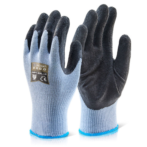Beeswift BS042BLXL Builders Latex Coated Glove - XLarge - 1