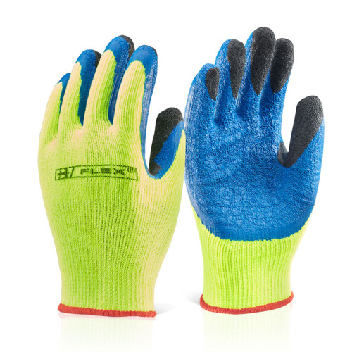 Beeswift BS047SY09 Latex Thermo-Star Fully Dipped Glove Yellow - Large - 1