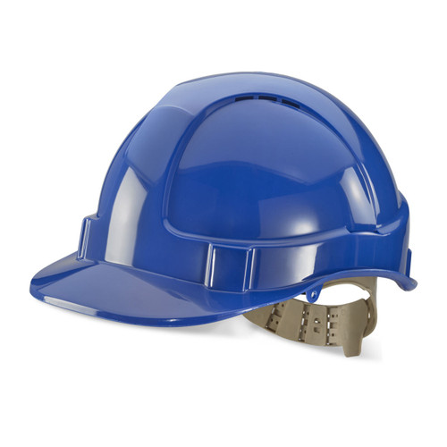Beeswift BS076B Vented Safety Helmet - Blue - 1