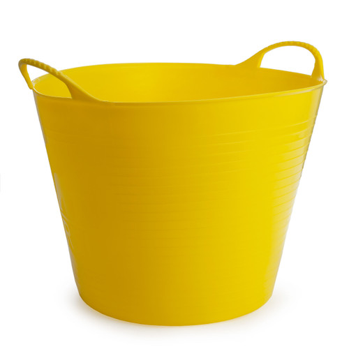 Red Gorilla SP26Y Medium Yellow Flexible Tub 26L - 3
