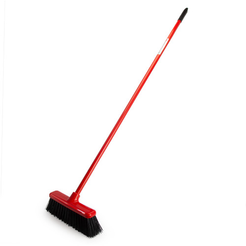 Red Gorilla SP.GRBR.30/R Red 2 in 1 Sweep & Scrape Broom 30cm - 3