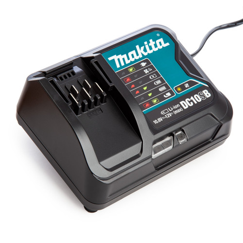 Makita DC10SB 10.8V - 12Vmax Lithium-ion Fast CXT Charger - 2