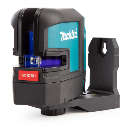 Makita SK105DZ 10.8V - 12Vmax Rechargeable Red Cross Line Laser (Body Only) - 4