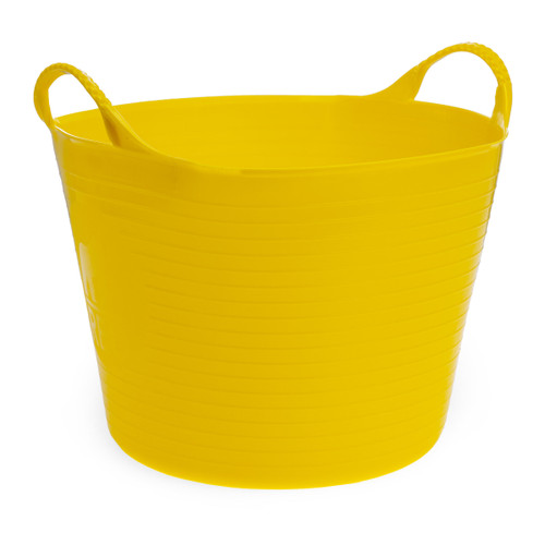 Red Gorilla SP14Y Small Yellow Flexible Tub 14L - 2