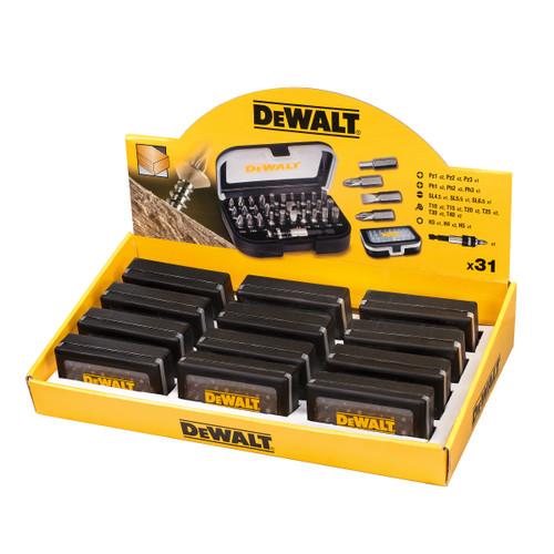 Dewalt DT7944TS-QZ 31 Piece Merchandiser Torsion Screwdriver Bit Set In Display Box Of 12 - 1