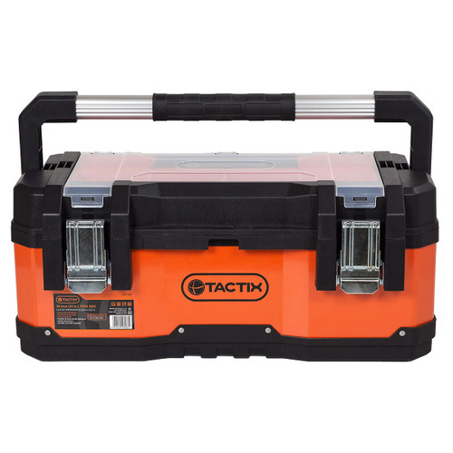 Tactix 321108 Tool Box with Organiser 58.5cm / 23 Inch TS - 6