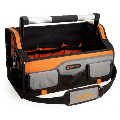 Buy Tactix 323163 Open Tool Bag 46cm / 18 Inch TS at Toolstop