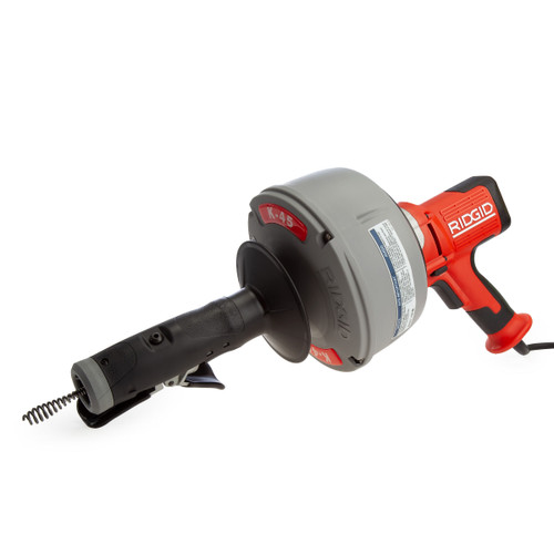 Ridgid 63698 K-45AF-5 Autofeed Drain Cleaning Machine 240V - 1