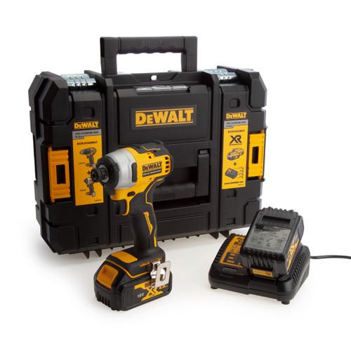 Buy Dewalt DCF809M2 18V XR Brushless Compact Impact Driver (2 x 4.0Ah Batteries) at Toolstop