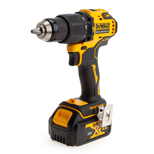 Dewalt DCD709M2 18V XR Brushless Combi Drill (2 x 4.0Ah Batteries) - 1
