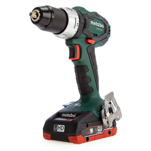 Metabo SB18LTBL 602316800 18V Brushless Hammer Drill (2 x 4.0Ah Batteries) - 5